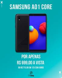 Título do anúncio: Samsung Galaxy A01 Core Dual SIM 32 GB Lacrado a pronta entrega (Ac cartão)