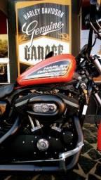 Harley Davidson Sportster 883 R orange