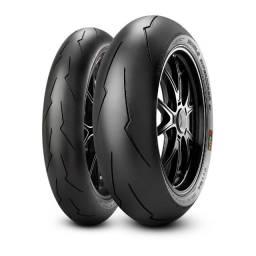Título do anúncio: Pneu Pirelli Diablo Supercorsa SP 200/55 17 0KM