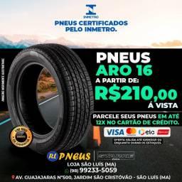 Título do anúncio: Pneus bom e == aqui na rl pneus