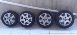 Título do anúncio: Rodas Astra Advantage 15 com pneus zero.