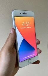 Título do anúncio: iPhone 8 Plus 64gb silver novo!