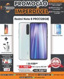 Celular Note8 Pro Rom 128/6gb  + Caixinha de som