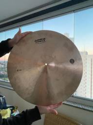 """Prato de bateria - Crash 22"""" série Worship - Domene Cymbals - Usado"""