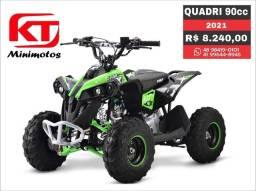 Quadriciclo 90cc MXF, motor 4TP, 10x sem Juros