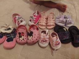 Título do anúncio: Sandálias infantil