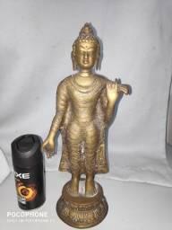 Título do anúncio: Buda de Bronze aprox. 33 cm