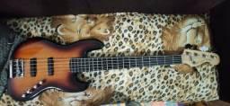 Título do anúncio: Fender Squier deluxe 5 cordas