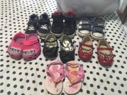 Título do anúncio: Lote sapato infantil