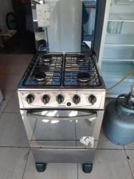 Vendo fogão 4 bocas automático  inox