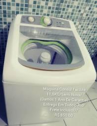Máquina Consul 11.5KG/1 Ano De Garantia/Entrego