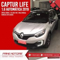 Título do anúncio: Captur 2019 1.8 Flex 19.000 km