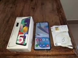 Samsung A51 128gb Único Dono Perfeito 5 meses de uso Com Nota fiscal Passo cartão