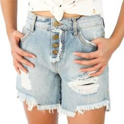 Bermuda Jeans Reta - Dzarm