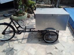 Título do anúncio: Bicicleta triciclo carga