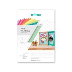Papel Color Plus Verde Tahiti 180gr - Mimo - A4 - 30 Folhas