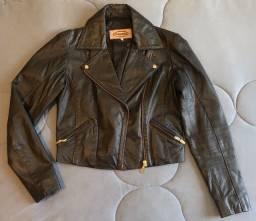 Jaqueta perfecto em couro legítimo
