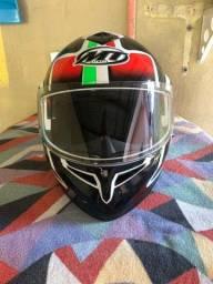 Título do anúncio: Capacete MT Helmets e Luva X11