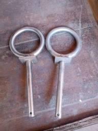 Vendo par de forqueta aço inox