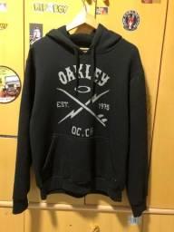Moletom oakley original tam M novo