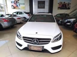Título do anúncio: Mercedes-Benz C300 Sport 17/18 2.0 turbo 245cv Aut.<br>40.300km