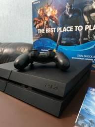 Título do anúncio: PlayStation 4 FAT - 500GB