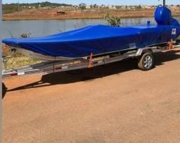 Título do anúncio: capas de canoa , motores e capotas