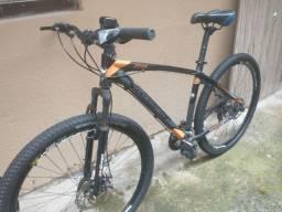 Bicicleta aro 29 freio a disco 21 marchas