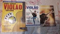 Kit 3 revistas aprender violão e guitarra