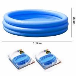Título do anúncio: Piscina Inflável Intex 123 Litros 3 anéis
