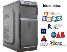 Título do anúncio: PC Intel core i3, 4GB, SSD 240GB, Fonte 500W