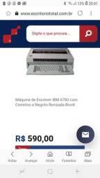 Maquina de escrever eletrônica