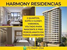 Apartamento no Costa Azul, Harmony Residências em 65m² com 2 vaga de garagem - Imperdível