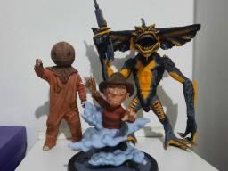 Lote 3 figuras de ação originais de filme de terror neca