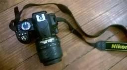 Nikon D3100 + Bolsa + Cartão 8GB