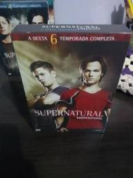 Box DVD Supernatural Sexta temporada Original