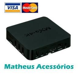 Mxq 4k TvBox 2 Gigas Ran 16 Gigas memoria Segunda Geração