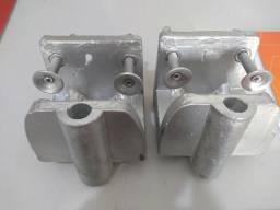 Suporte em alumínio para motor o rabeta