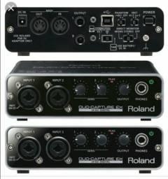 Placa de Som Duo Capture Roland