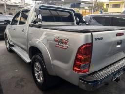 Toyota Hilux sre 3;0 4x4 cab dupla diesel primeiro dono - 2012