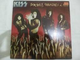 Lp kiss smashes thrashes e hits 1989