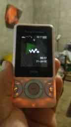 Sony Ericsson w205 relíquias aceito cartão