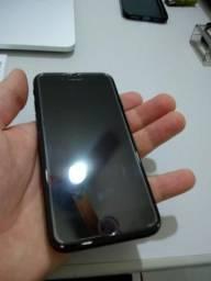 Iphone 7 256g, preto fosco, muito conservado, sem amassado nem aranhao
