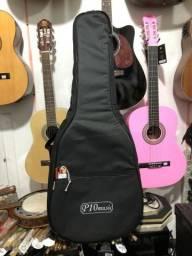 Bag capa acolchoada para violão folk Takamine Hofma Eagle Crafter