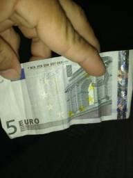 Nota de 5 euros serie 1 comprar usado  Teresina