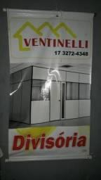 Forro pvc ,Divisórias, porta sanfonada ,vidro temperado