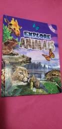 Usado, Livro infantil explore animais com abas interativas comprar usado  Curitiba