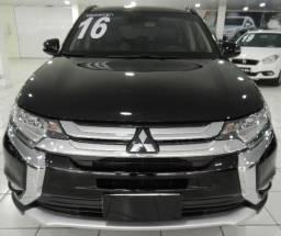 Mitsubishi Outlander 2.2 Diesel 22.000KM Top 7 lugares Couro Blindado Truffi 3A - 2016