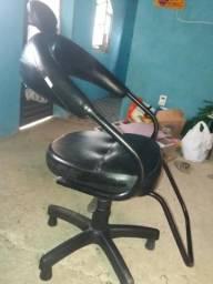 Cadeira fixa para salão de beleza