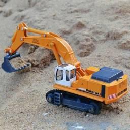 Miniatura escavadeira 1/87